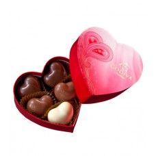 GODIVA PAPER HEART GIFT BOX