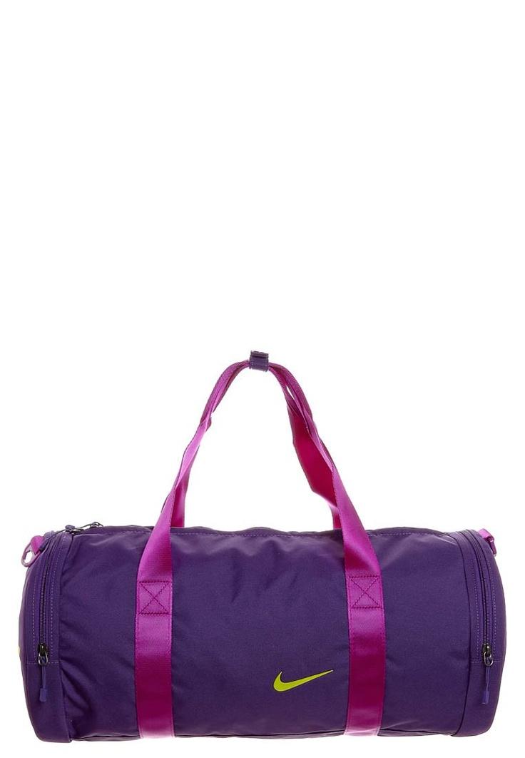 Purple Nike sports bag