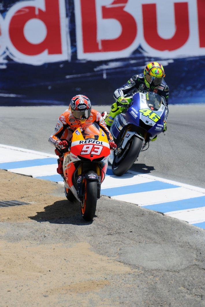 US MotoGP: Rossi to Suppo 'You broke my balls over Stoner pass!'
