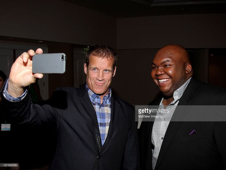 Actors Mark Valley and Windell Middlebrooks attend the 17th Annual PRISM Awards at the Beverly Hills Hotel on April 25, 2013 in Beverly Hills, California.