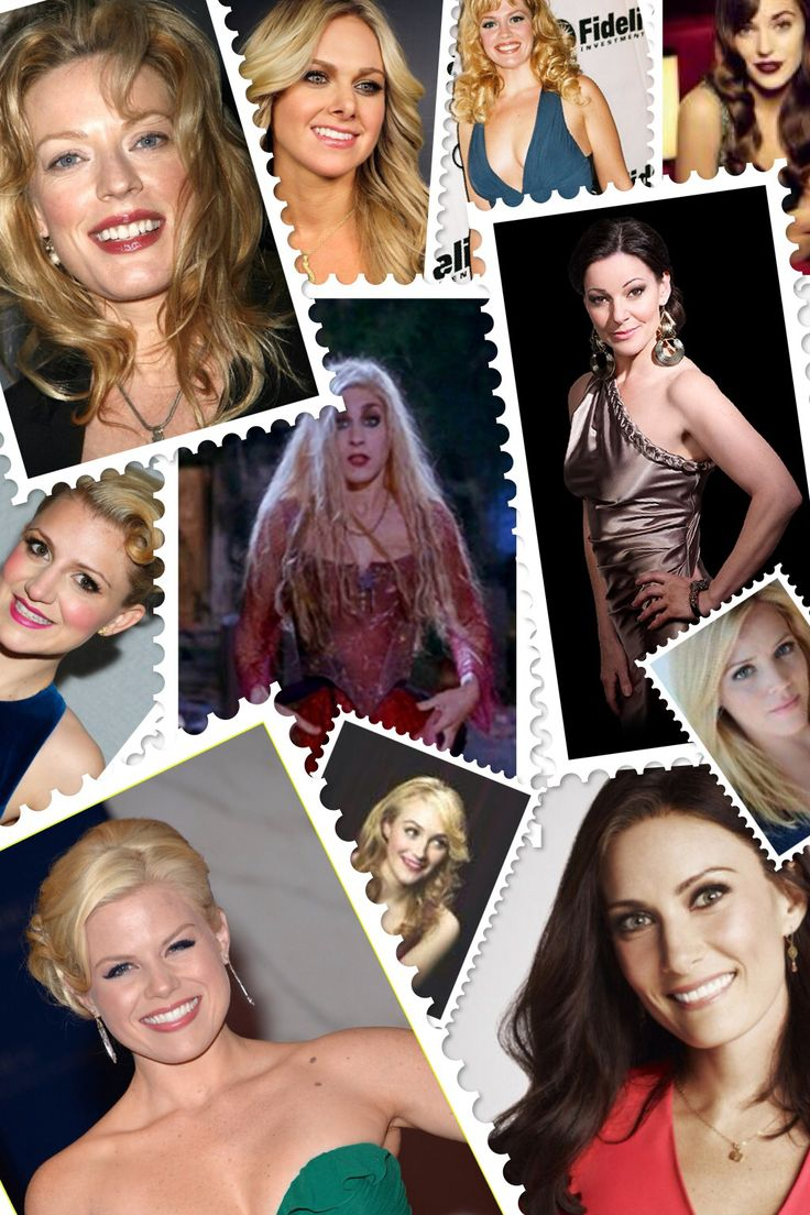 Hocus Pocus the Musical - Casting Sarah Sanderson  Sherie Rene Scott, Laura Bell Bundy, Elizabeth Stanley, Laura Osnes, Ruthie Henshall, Katie Rose Clarke, Laura Benanti, Betsy Wolfe, Megan Hilty, Annaleigh Ashford