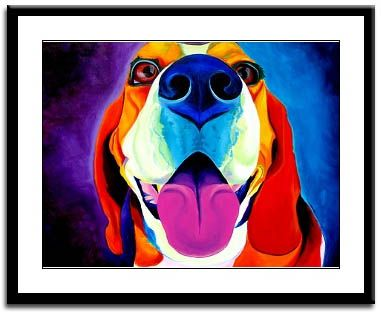 Awesome Beagle Print