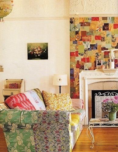 /// Patchwork living room #patchwork #house #design