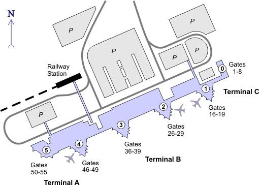 Aeropuerto de Barcelona-El Prat http://jamaero.com/airports/Airport-El_Prat_De_Llobregat-Barcelona-Spain
