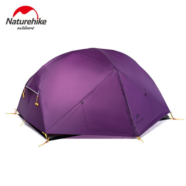 NatureHike 2 Person Ultralight Tent NH hiking Tents Waterproof tents Double Layer Outdoor Camping Hike 2017 Travel Tent