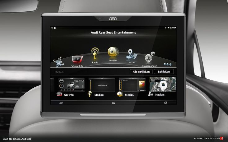 Audi Q7 Infotainment - 2015