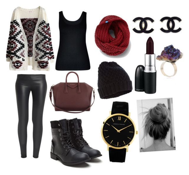 """""""Cozy winter!!"""" by cozyncomfy on Polyvore featuring The Row, City Chic, Givenchy, Keds, Accessorize, Larsson & Jennings and MAC Cosmetics"""