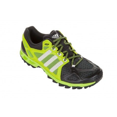 If you want pure, stripped-down speed on the trails, then you need these quicksilver, feather-light Adidas Kanadia TR 6 shoes. The TRAXION lugs on the sole won't slip on any surface, and ADIWEAR outsole will take any kind of punishment.