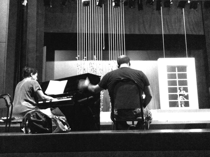 Rehearsal for Madama Butterfly