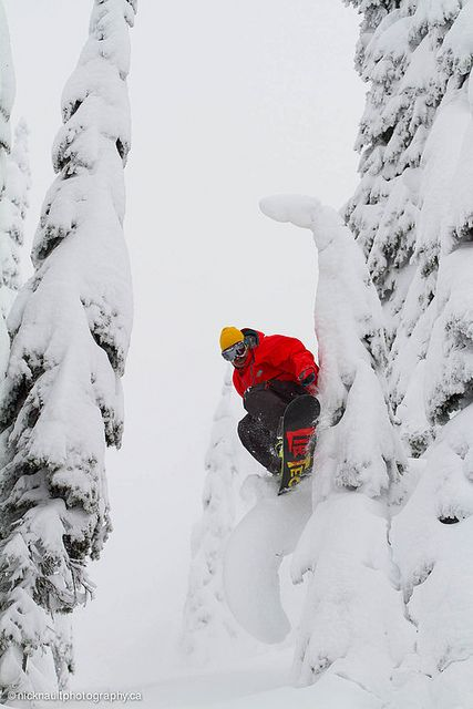 Waiting for winter.. not long now! Photo credit Fernie Resort/Nick Nault & Jamie Rizzuto #snowboard #winter