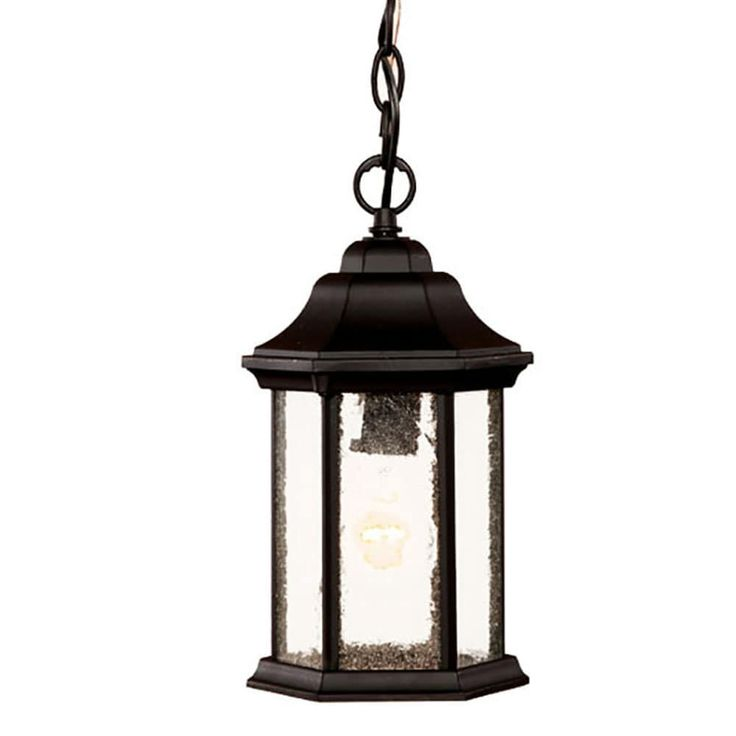 Acclaim Lighting Madison Collection Hanging Lantern 1-Light Outdoor Matte Light Fixture