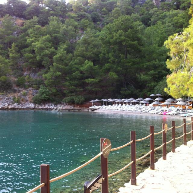 Silent beach (Hillside Beach resort)- Fethiye- Turkey