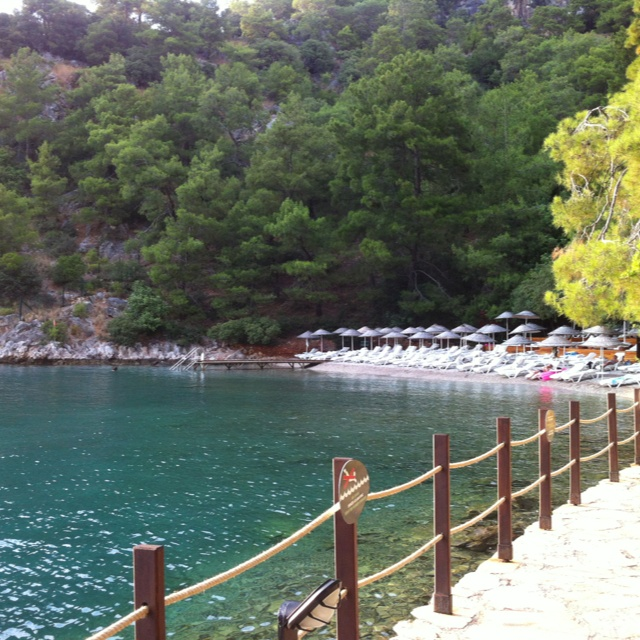 Silent beach (Hillside Beach resort)- Fethiye- Turkey