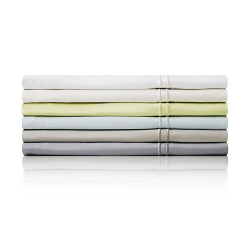 White Four-Piece Rayon from Bamboo California King Sheet Set - (In No Image Available)