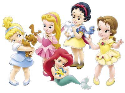 Disney Princes and Pets Clip Art.