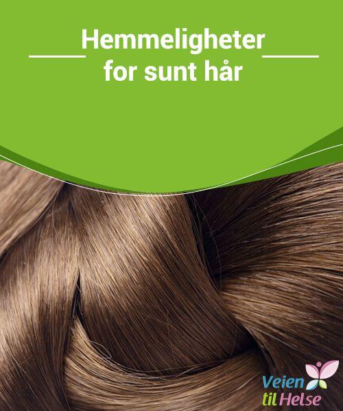 Hemmeligheter for sunt hår  Om du har tynt og skjørt hår, kan du i #tillegg til å #inkludere mer protein i #kostholdet, også bruke kokosolje i håret for mer #fuktighet og styrke.