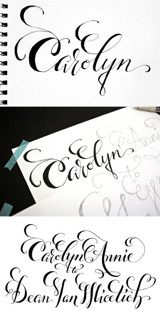 291 Best Calligraphy Fonts And Letters Images On