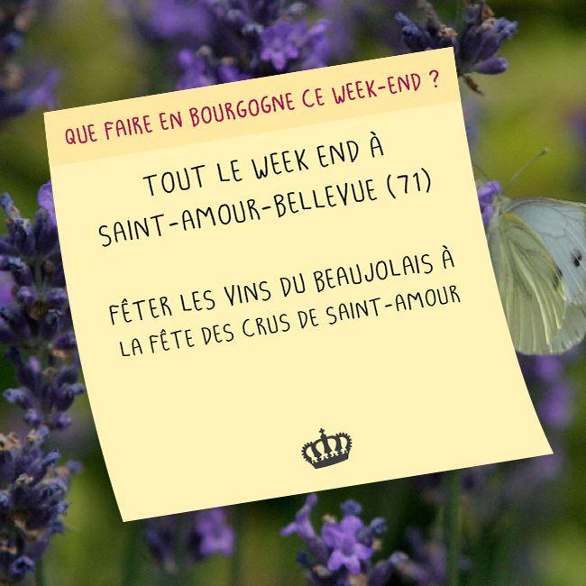 Le 25 et 26 avril on part à St Amour Bellevue en Saône-et-Loire pour célébrer le #beaujolais !