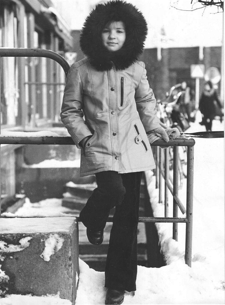 Girl in Reima outfit in 1977. #Reima70 #1970s