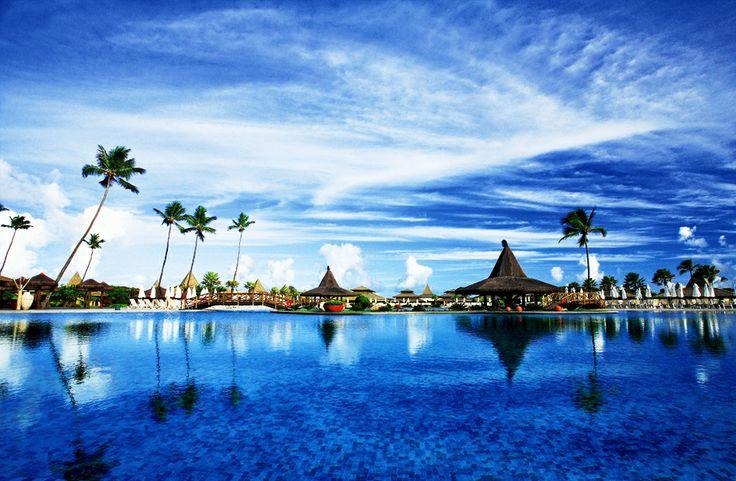 Vila Galé Marés Resort Hotel em Guarajuba, Bahia. #Brasil #Viagem