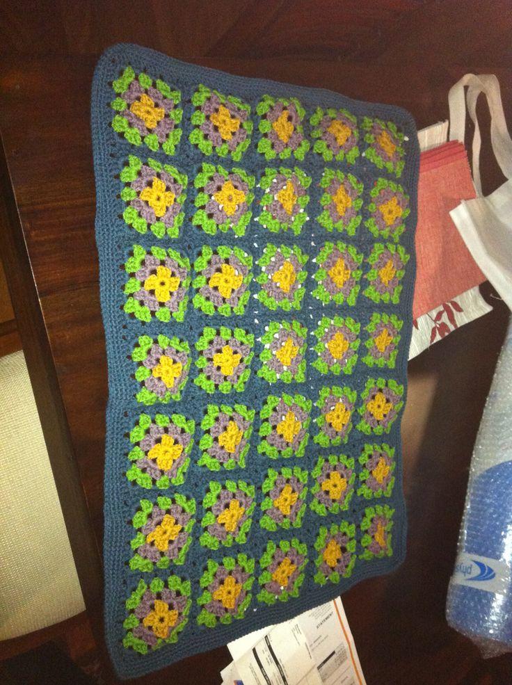 Acrylic Granny Squares - Robertsons