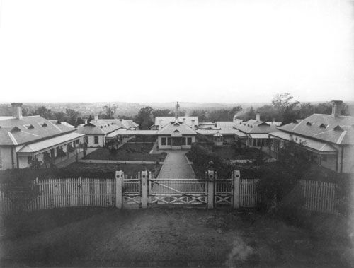 Idiot Asylum, Kew, c. 1900, photograph. Courtesy of the Kew Cottages Historical Society - See more at: http://prov.vic.gov.au/publications/provenance/provenance2007/made-enquiries#sthash.lgUwZiMY.dpuf