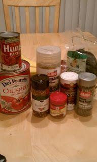 Low Iodine Dishes for Thyroid Cancer Radiation Treatment: Homemade Spaghetti Tomato Sauce -Low Iodine
