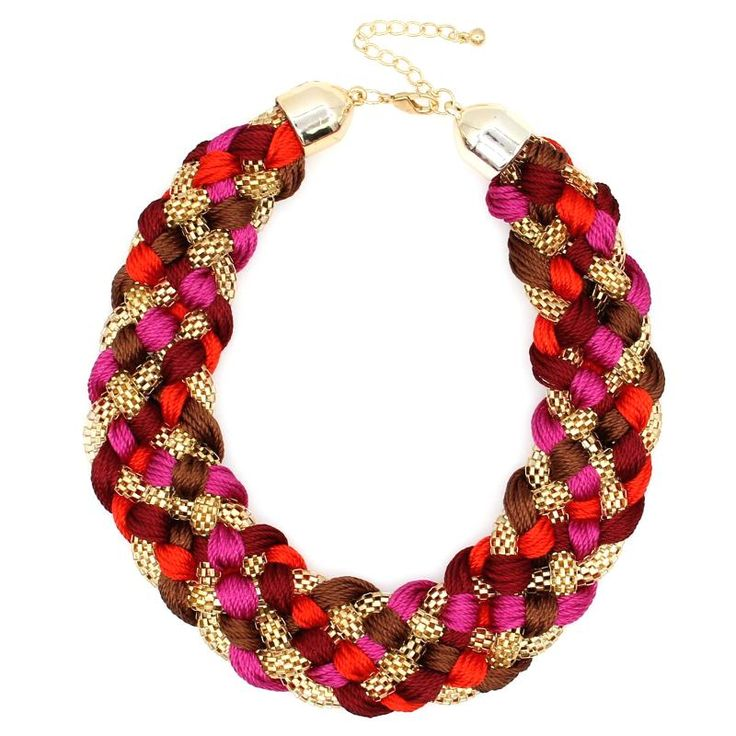 Weaved Handmade Necklace Chunky Popcorn Chain Women Chokers Wide Collar Statement Necklaces Big Jewelry Like it?Get it here --->  http://www.rumjewelry.com/product/bosewin-2016-fashion-weaved-handmade-necklace-chunky-popcorn-chain-women-chokers-wide-collar-statement-necklaces-big-jewelry/ #shop #beauty #Woman's fashion #Products #homemade