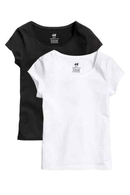 Tricouri, pachet de 2 bucăţi