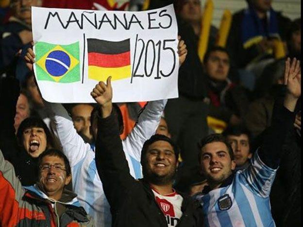 Decime qué se siente: el cartel argentino que es furor en Chile - | diariouno.com.ar