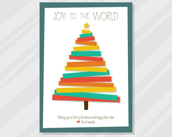 13 Best Personalised Christmas Cards Images On Pinterest