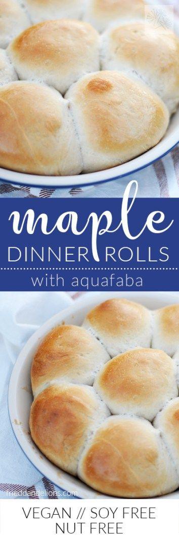 fried dandelions // maple dinner rolls