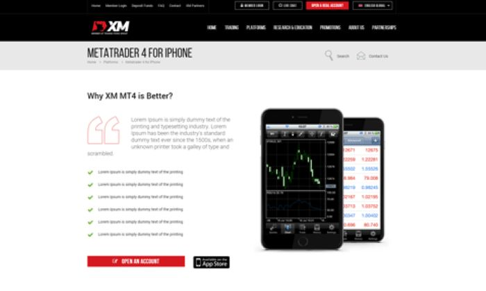Xm Com Trade Forex On Mt4 On Your Apple Iphone Iphone Apple