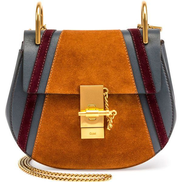 Chloe Drew Mini Patchwork Shoulder Bag (7.880 RON) ❤ liked on Polyvore featuring bags, handbags, shoulder bags, blue, blue purse, patchwork handbags, chloe handbags, kiss-lock handbags and chain strap purse - hidesign handbags, handbags with matching purse, fiorelli handbags *ad