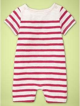 Striped short romper-I'm obsessed with stripes on a little boy