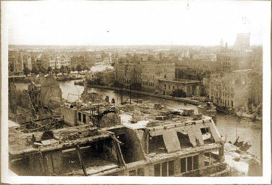 Панорама Альтштадта и Кнайпхофа. Кафедральный собор. 1947