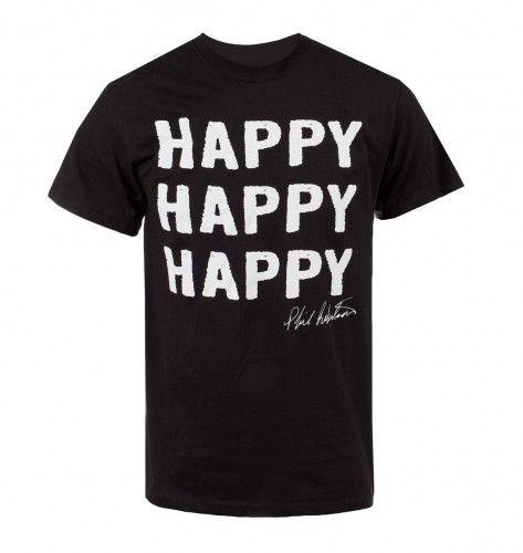 Duck Dynasty Happy Happy Happy T-shirt - Black