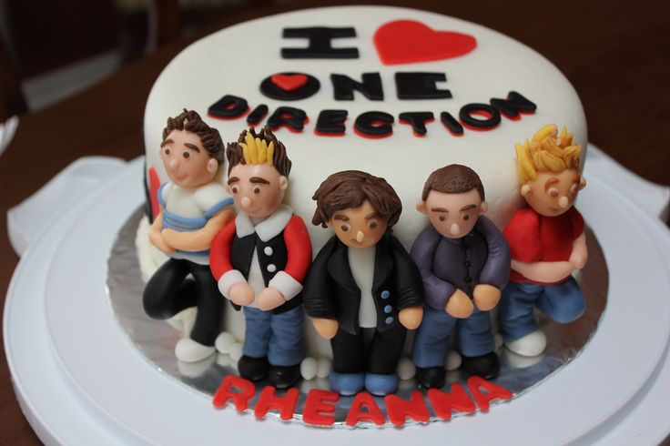 I Love One Direction Cake!