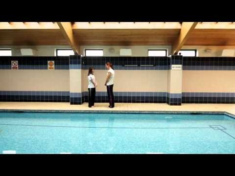 adidas presents Take The Stage: Amy trains with Olympic swimmer Joanne Jackson