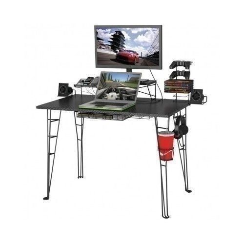 Ps3 Station Gaming Desk Games Playstation Console 8 Accessories Computer Table #Ps3StationGamingDesk