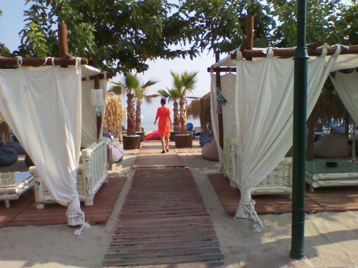 Hotel Rigakis -Beach bar - 2016 - Dream beach - Pefkochori - Chalkidiki