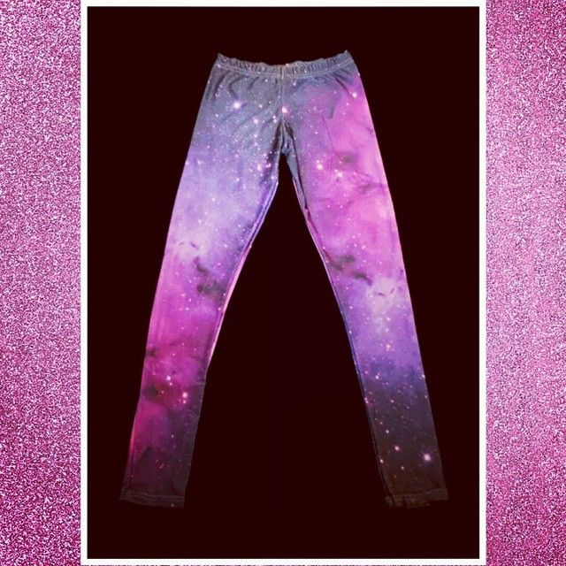 Leggins Galaxy #leggins #galaxy # pink