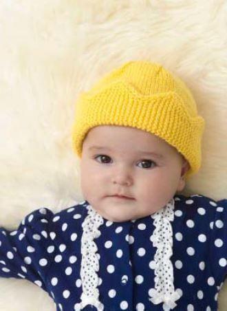 Lion Brand Modern Baby Baby Crown Hat Digital Version – Deramores US