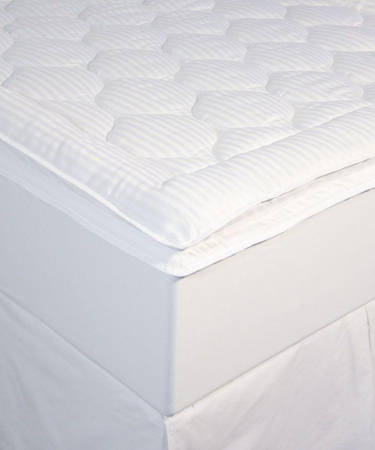 Luxury Stripe Mattress Pad