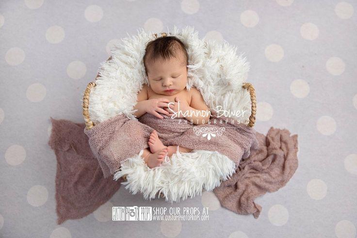 Flesh Stretch Wrap Newborn Photo Props Stretch by CustomPhotoProps, $17.99