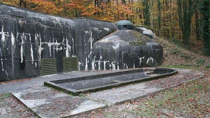 Technikgeschichte: Schoenenbourg – Bunker in der Maginot-Linie ...