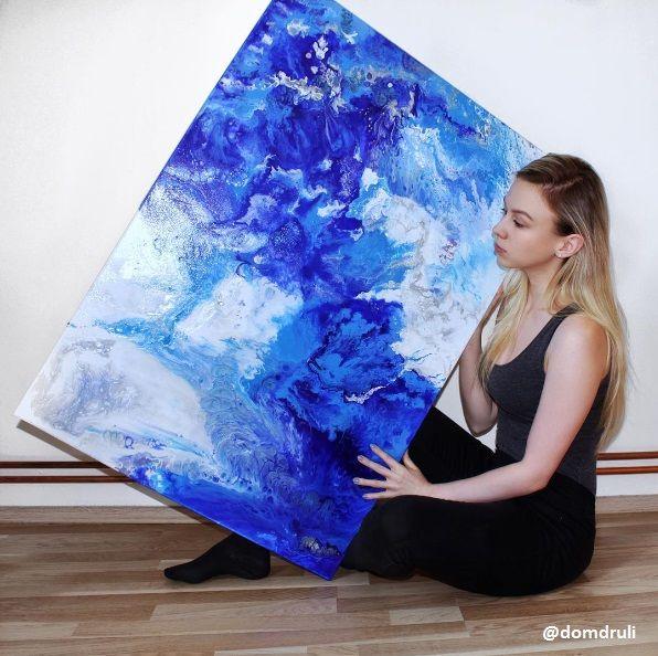 fluid painting  #mywork #art #czech #artist #abstract