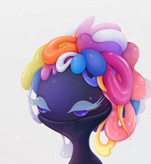 lollipop queen on Behance