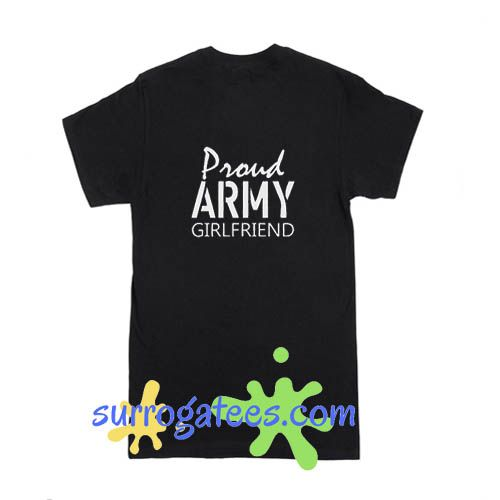 Proud Army Girlfriend Relaxed Jersey – Funny Shirt