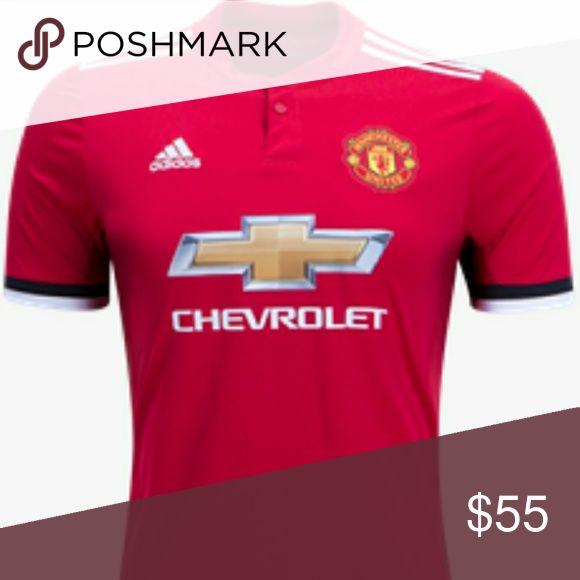 af98437e4 ... sleeve Manchester United home jersey 17-18 NWT Football ShirtsFootball  SoccerSoccer JerseysInfantsShortsThirdArtManchester ...